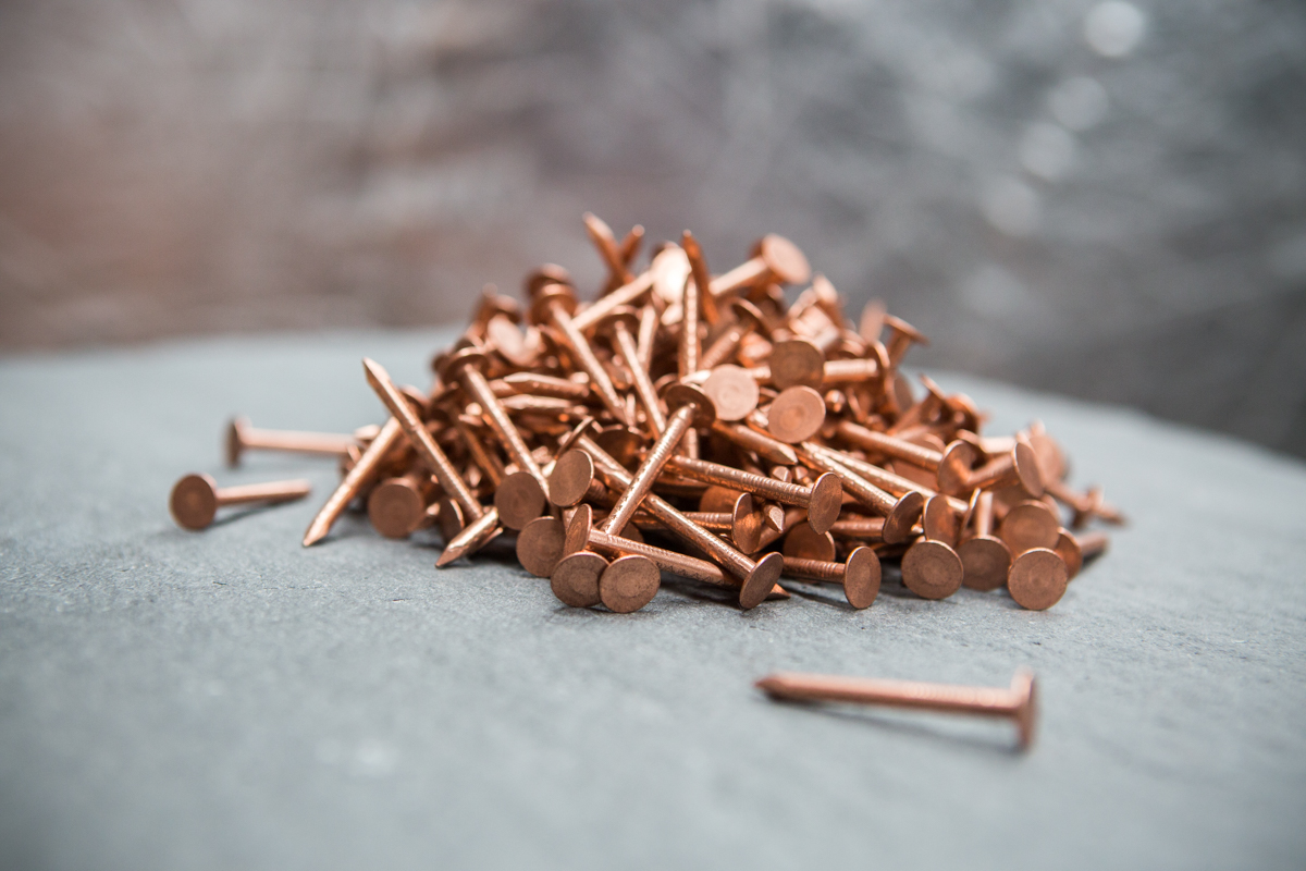 Copper Clout Nails Uk Slate