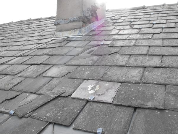 Loose Roof Tiles