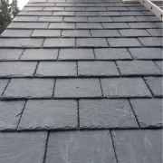 Close up of Samaca Q66 Slate roofing tiles