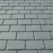 Close up of slate roof