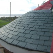 Leay Farm, Wirrall, with Vermont structural unfading green roof tiles in place