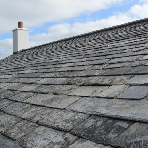 Reclaimed Slate Roof