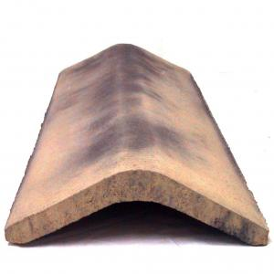 Conservation stone effect ridge for roof