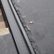 Easy Slate in place with slate roof tile