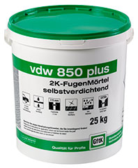 GFTK VDW 850 Plus Paving Jointing Mortar 25kg Stone Grey
